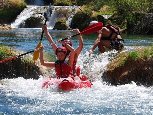 Rafting and canoe safari